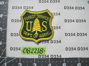 Dept of Agriculture 60's cut edge original FOREST SERVICE Patch Nice obsolete