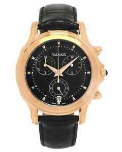 Balmain Eria Chrono  PVD Coated Stainless Steel Quartz Men's Watch B68693266