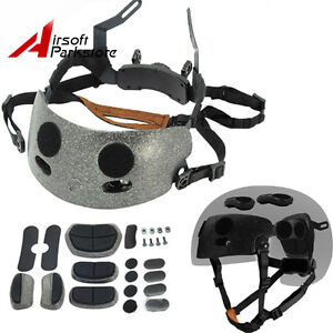 Tactical Adjustable Helmet ACH Occ-Dial Liner Kit for MICH 2000 2001 2002 Helmet