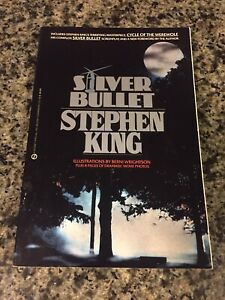 Silver Bullet-Stephen King-First Edition/First Printing Signet Paperback
