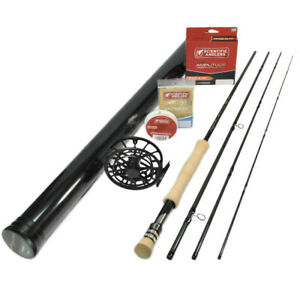 G Loomis Asquith 790-4 Global All Water Fly Rod Outfit : 7wt 9'0
