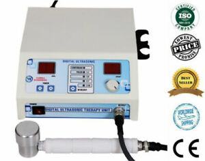 Home Use 1 MHz Chiropractic Digital Ultrasound Therapy Machine back pain therapy $130.00