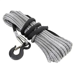 Smittybilt 97710 XRC Synthetic Winch Rope 10000 lb. Rated Line Pull 94 Ft