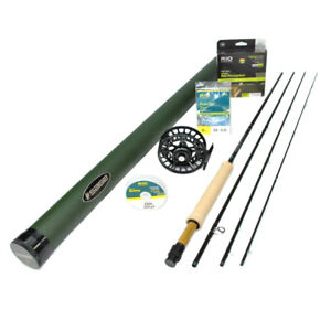 Sage X 590-4 Fly Rod Outfit : 5wt 9'0