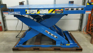 SAFEBILT 15000 LB. Cap. Hydraulic Scissor Lift Table 60
