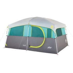 2000029969 Coleman Tenaya Lake Lighted Fast Pitch 8-Person Cabin With Closet