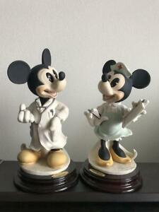 Dr. Mickey Mouse and Nurse Minnie Mouse Giuseppe Armani 2 set Antique Vintage