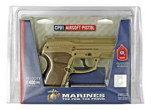 Marines CP01 CO2 Airsoft Pistol free 5 CO2 Cartridges & 2000 BB