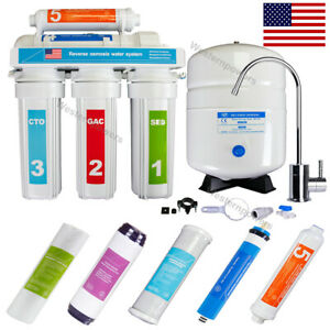 5 Stage Reverse Osmosis System Drinking Water Filtration System RO Water $110.00