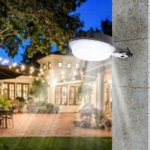 70W LED Barn Light 9100lm Area Light Photocell Outdoor Security Road Light US