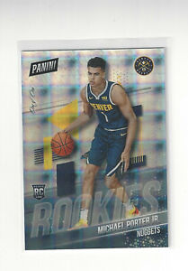 2019 PANINI NATIONAL SILVER PACK MICHAEL PORTER JR 1/1 HYPER PLAID ONE OF ONE