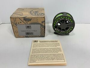 LAMSON Konic 1.5 Fly Fishing Reel with WF-4-F Line and Original Box, NEW!