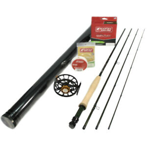 G Loomis NRX LP 1085-4 Fly Rod Outfit : 5wt 9'0