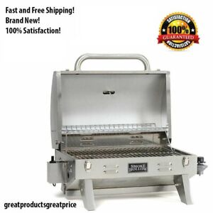 Smoke Hollow Stainless Steel 1 Burner Liquid Propane Outdoor BBQ Gas Grill