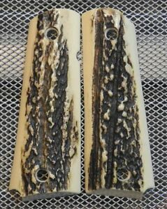 1911 Gun Grips For Kimber & Colt Frames 2nd To Real Look Of Stag Look #9