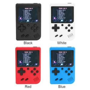 Mini 3in TFT Handheld Retro FC Game Console System 400 Games 8 Bit Game Player
