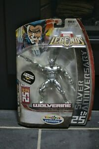 Marvel Legends Wolverine 25th Silver Anniversary Limited Edition $30.00