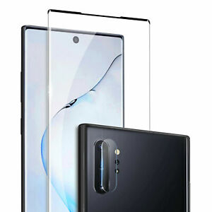 For Samsung Galaxy Note 10 Plus Tempered Glass Screen Protector&Rear Camera Film