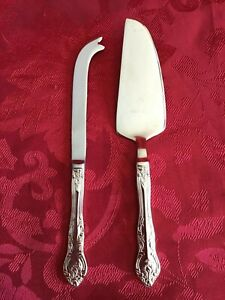 RSVP Silverplate Indonesia - RXV2 Pattern - 2 PCS - CHEESE SERVING KNIVES