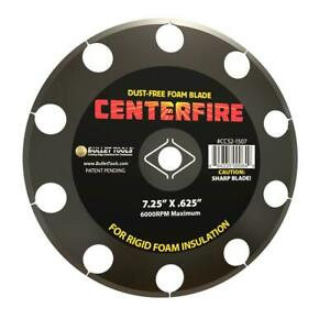 Bullet Tools-CC52-1507 7.25 in. CenterFire Dust Free Foam Blade for Cu