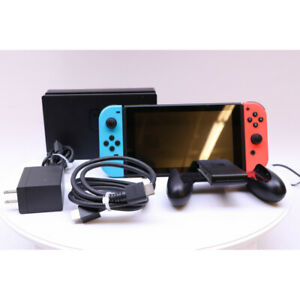 Nintendo Switch Console 32GB with Joy-Cons Neon BlueNeon Red