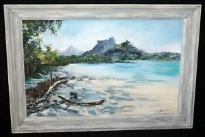 1966 Hawaii Oil Painting