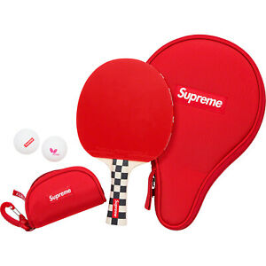 Supreme Butterfly Table Tennis Racket Set Checkerboard $249.99