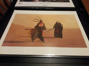 Journey Masked Travelers Giclee #001300 NUMBER ONE PlayStation Art Print Poster