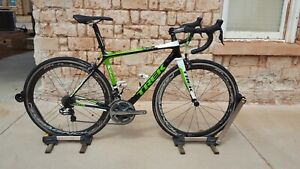 TREK Madone Carbon Road Ultegra Di2 Bullet Ultra wheels Stages Power H2 52cm