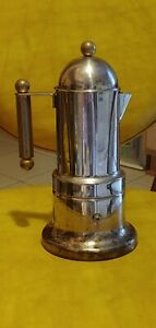 Stainless and Brass made in Italy espresso coffee maker
