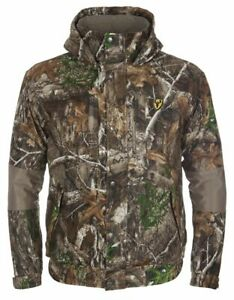 Scent Blocker Shield Series Men#x27;s Outfitter 3 in 1 Jacket Coat Realtree Edge