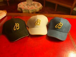 Breitling Baseball Cap VIP Embroidery AUTHENTIC set of 3 (blue black