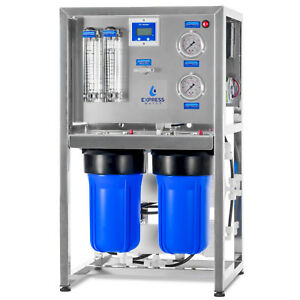 600 GPD Commercial Reverse Osmosis Water Filtration System 3 Stage Filtration $2000.00