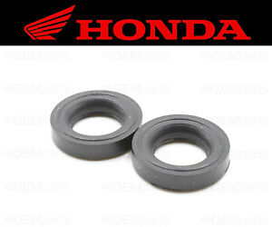 Set of (2) Valve Cover Bolt Seal Honda Scooter (RUBBER MOUNTING) #90543-MV9-670