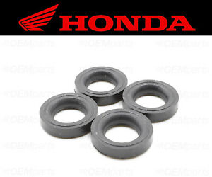 Set of (4) Valve Cover Bolt Seal Honda Scooter (RUBBER MOUNTING) #90543-MV9-670