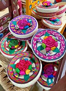 MEXICAN Materials - WOVEN TORTILLA WARMER Colorful (B  ***FREE FREIGHT***