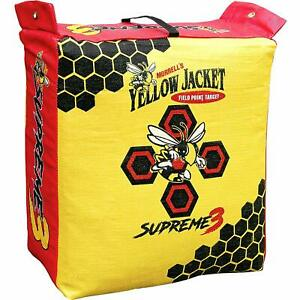 Morrell Yellow Jacket Supreme 3 Field Point Bag Archery Target free shipping