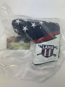 Lamb Crafted Tyson Lamb US Open 2018 Blue Red White USA Head Cover Leather