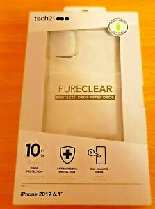 Tech 21 Pure Clear case for Apple iPhone 11 6.1
