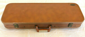 Browning SA22 Case By Hartmann Brown Naugahyde White Inserts Vintage