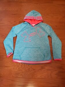 Girls Under Armour Hoodie Size YLG youth large