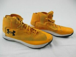 Under Armour SC 3Zero - Yellow Basketball Shoes (Men's 15) - Used
