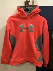 UNDER ARMOUR  Kid Girl Pink Hoodie  Size XYL. Great Condition!