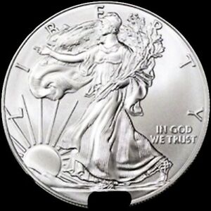2019 (1) ONE .999 American Silver Eagle Dollar UNCIRCULATED ASE BULLION 2019 MIX