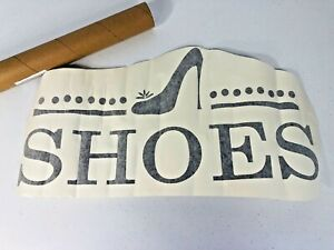 Design with vinyl shoes wall decal sticker
