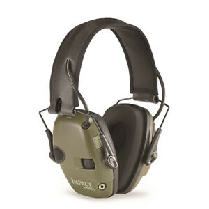 Howard Leight By Honeywell R-01526 Impact Sport Sound Electronic Earmuff Green