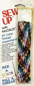 Vintage McCalls Package Assorted Thread Sew Up Pick a Color Pull a Thread $6.99