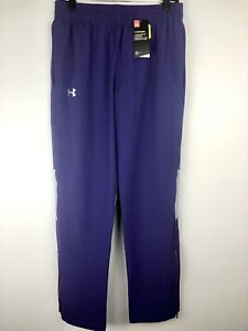 Mens Size M Purple Under Armour Loose Heat Gear Pants $35.00