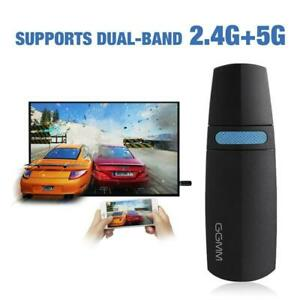 Ggmm Miracast Tv Stick Wireless Mini Hdmi Dongle Airplay Dongle Support 5G2.4G