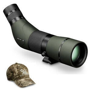 Vortex Viper HD 15-45x65 Spotting Scope (Angled) with Real Tree Hat